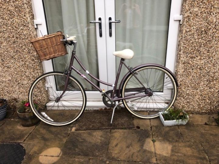 Jane's second-hand bike