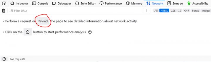 Network Inspector in Firefox