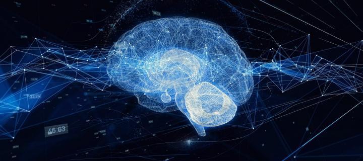 AI brain concept