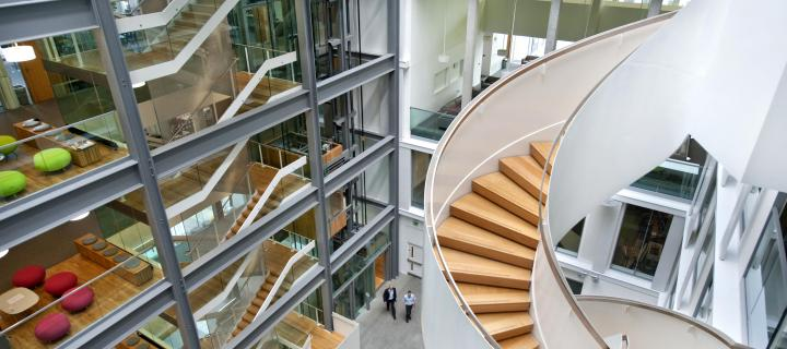 Informatics Forum stairs