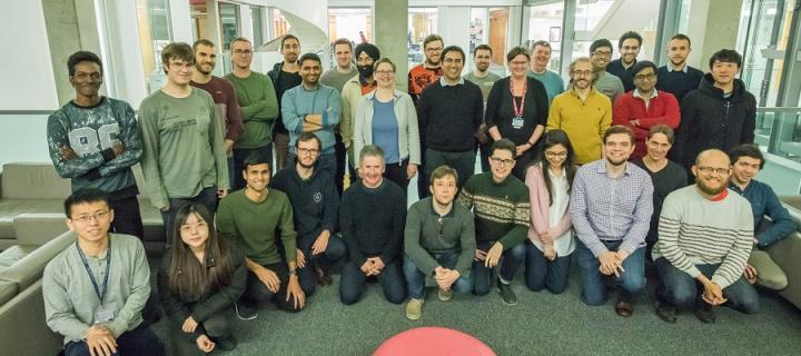 ICSA members group photo