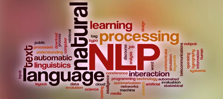 NLP and associated word graphic