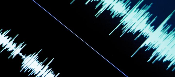 Image of soundwaves