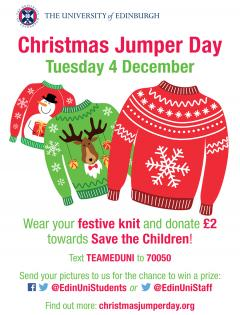 Christmas Jumper Day 2018 flyer