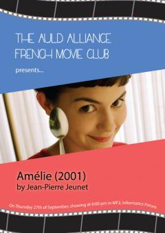 Auld Alliance French Movie Club poster